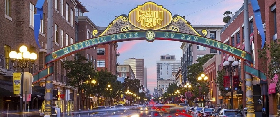 Gaslamp Downtown San Diego